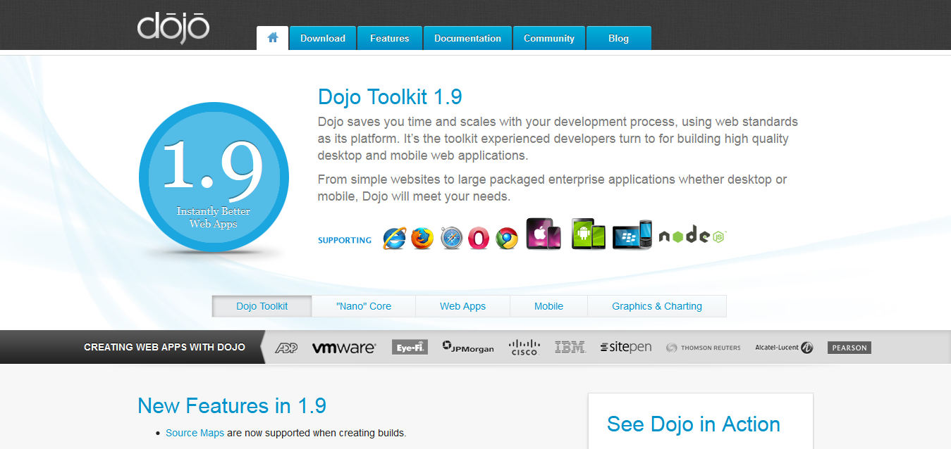 Unbeatable JavaScript Tools - The Dojo Toolkit